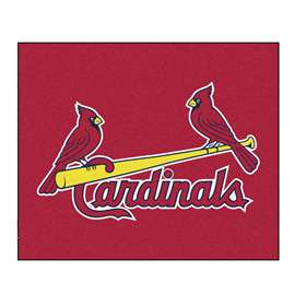 MLB - St. Louis Cardinals Tailgater Rug 5'x6'  Tailgater Mat