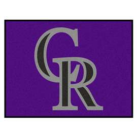 "MLB - Colorado Rockies All-Star Mat 33.75""x42.5""  All Star Mat"