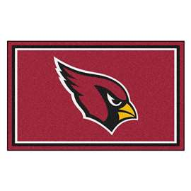 NFL - Arizona Cardinals 4x6 Rug Plush Rugs