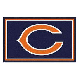 NFL - Chicago Bears 4x6 Rug Plush Rugs
