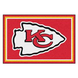 NFL - Kansas City Chiefs 5x8 Rug Plush Rugs