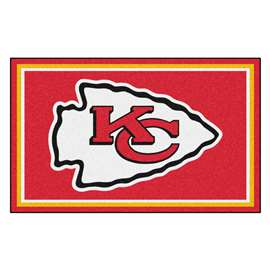 NFL - Kansas City Chiefs 4x6 Rug Plush Rugs