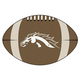 Western Michigan University Football Mat Ball Mats