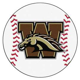 Western Michigan University  Baseball Mat Rug Carpet Mats