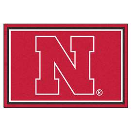 University of Nebraska  5x8 Rug Rug Carpet Mats