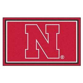 University of Nebraska  4x6 Rug Rug Carpet Mats