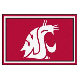 Washington State University  5x8 Rug Rug Carpet Mats