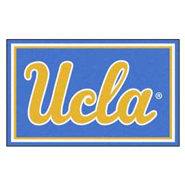 University of California - Los Angeles (UCLA) 4x6 Rug Plush Rugs