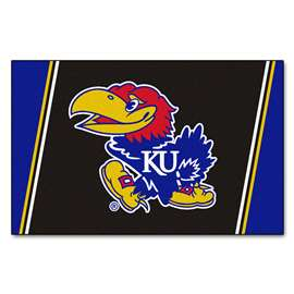 University of Kansas 4x6 Rug Plush Rugs