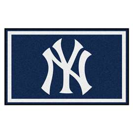 MLB - New York Yankees 4'x6' Rug  4x6 Rug