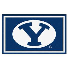 Brigham Young University  4x6 Rug Rug Carpet Mats