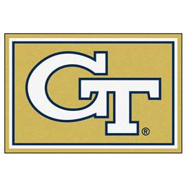 Georgia Tech  5x8 Rug Rug Carpet Mats