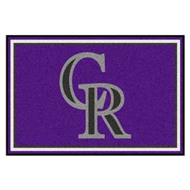 MLB - Colorado Rockies 5'x8' Rug  5x8 Rug