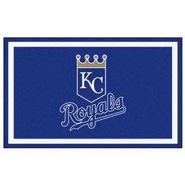 MLB - Kansas City Royals 4x6 Rug Plush Rugs