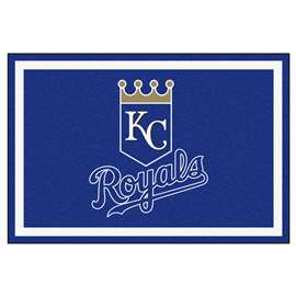 MLB - Kansas City Royals 5x8 Rug Plush Rugs
