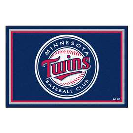 MLB - Minnesota Twins 5x8 Rug Plush Rugs