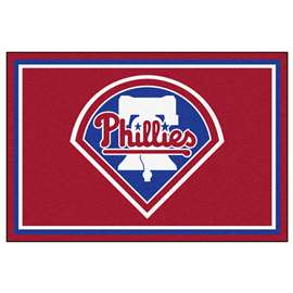 MLB - Philadelphia Phillies 5x8 Rug Plush Rugs