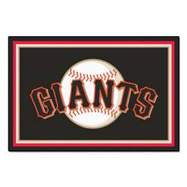 MLB - San Francisco Giants 5'x8' Rug  5x8 Rug