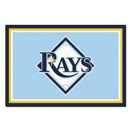 MLB - Tampa Bay Rays 5x8 Rug Plush Rugs