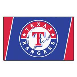 MLB - Texas Rangers 4x6 Rug Plush Rugs