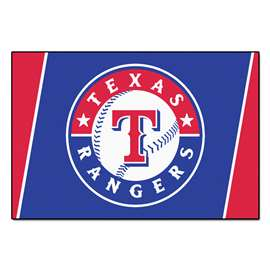 MLB - Texas Rangers 5x8 Rug Plush Rugs
