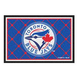 MLB - Toronto Blue Jays 5x8 Rug Plush Rugs