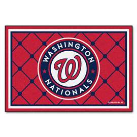 MLB - Washington Nationals 5x8 Rug Plush Rugs