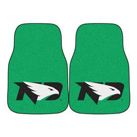 University of North Dakota  2-pc Carpet Car Mat Set