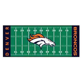 NFL - Denver Broncos Football Field Runner Runner Mats