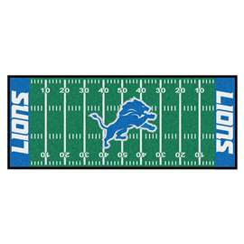 NFL - Detroit Lions Football Field Runner Runner Mats