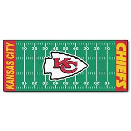 NFL - Kansas City Chiefs Football Field Runner Runner Mats