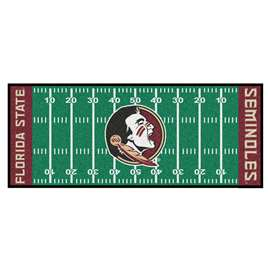 Florida State University  Football Field Runner Mat Rug Carpet