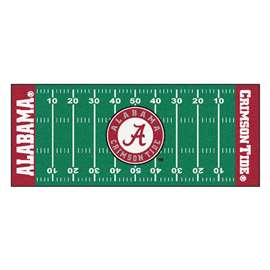 University of Alabama  Football Field Runner Mat Rug Carpet