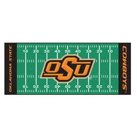 Oklahoma State University  Football Field Runner Mat Rug Carpet