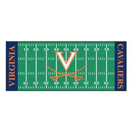 University of Virginia Football Field Runner Runner Mats