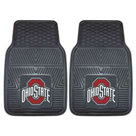 Ohio State University 2-pc Vinyl Car Mat Set Front Car Mats