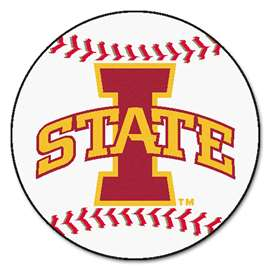 Iowa State University   Baseball Mat Rug Carpet Mats