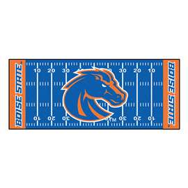 Boise State University  Football Field Runner Mat Rug Carpet