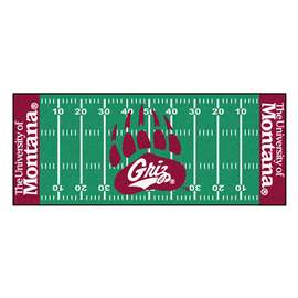 University of Montana Football Field Runner Runner Mats