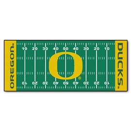 University of Oregon  Football Field Runner Mat Rug Carpet
