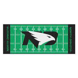 University of North Dakota  Football Field Runner Mat Rug Carpet