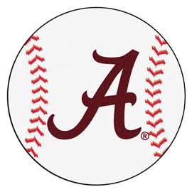 University of Alabama  Baseball Mat Rug Carpet Mats