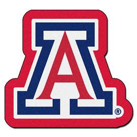 University of Arizona Mascot Mat Custom Shape Rugs