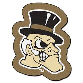 Wake Forest University Mascot Mat Custom Shape Rugs