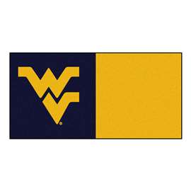 West Virginia University  Team Carpet Tiles Rug, Carpet, Mats