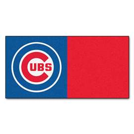"MLB - Chicago Cubs 18""x18"" Carpet Tiles  Team Carpet Tiles"