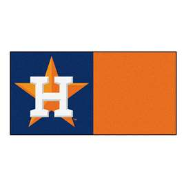 "MLB - Houston Astros 18""x18"" Carpet Tiles  Team Carpet Tiles"