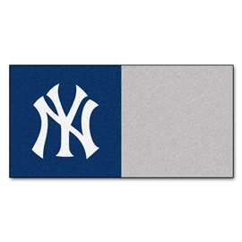 "MLB - New York Yankees 18""x18"" Carpet Tiles  Team Carpet Tiles"