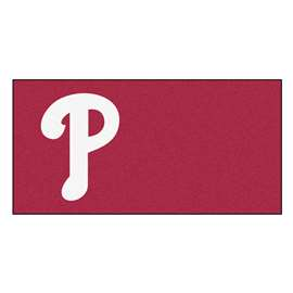 "MLB - Philadelphia Phillies 18""x18"" Carpet Tiles  Team Carpet Tiles"