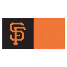 "MLB - San Francisco Giants 18""x18"" Carpet Tiles  Team Carpet Tiles"